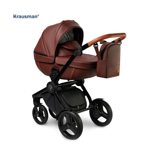 KRAUSMAN Carucior 3 in 1 Topaz Lux Brown