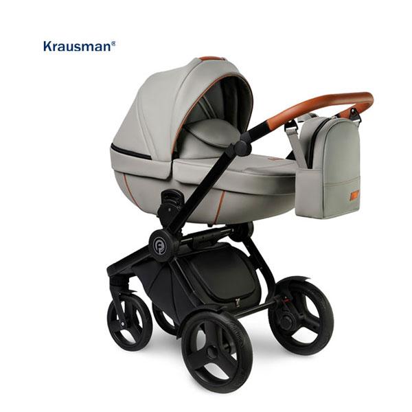 KRAUSMAN Carucior 3 in 1 Topaz Lux Grey