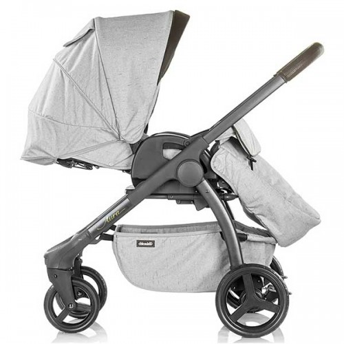 Carucior Chipolino Aura 3 in 1 smoked pearl linen melange