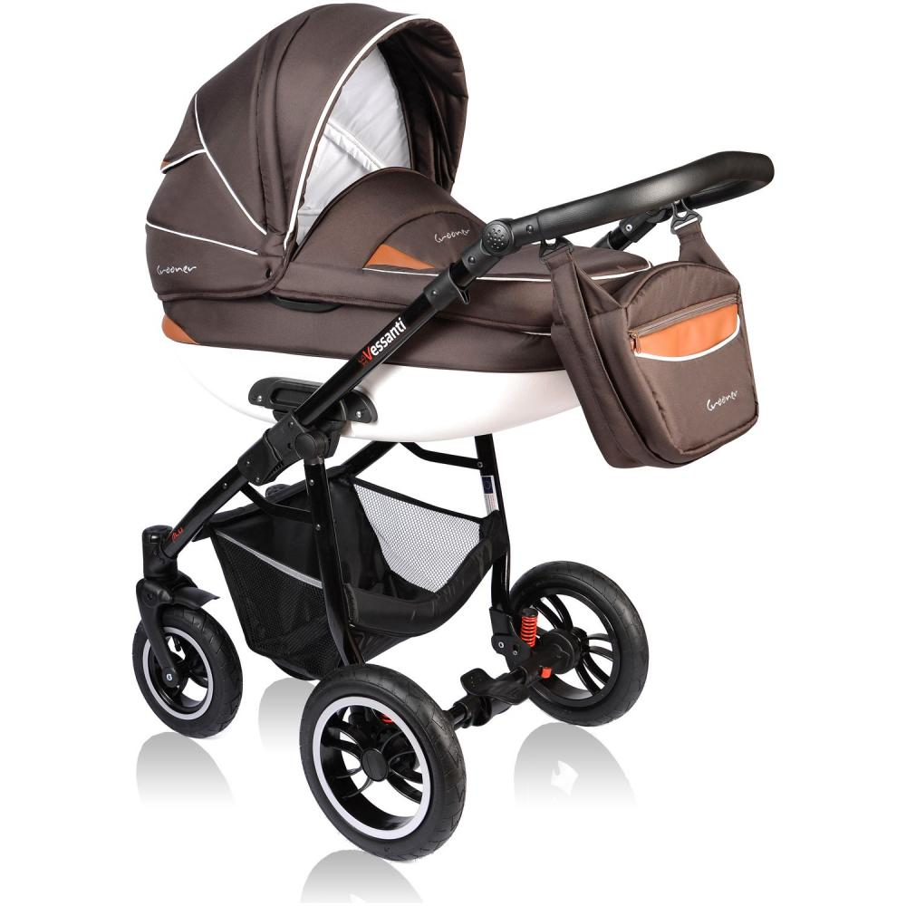Carucior Crooner 2 in 1 Vessanti Brown