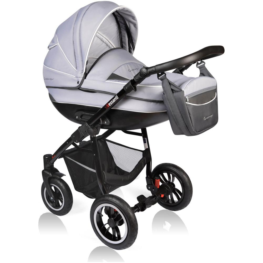 Carucior Crooner 3 in 1 Vessanti Gray