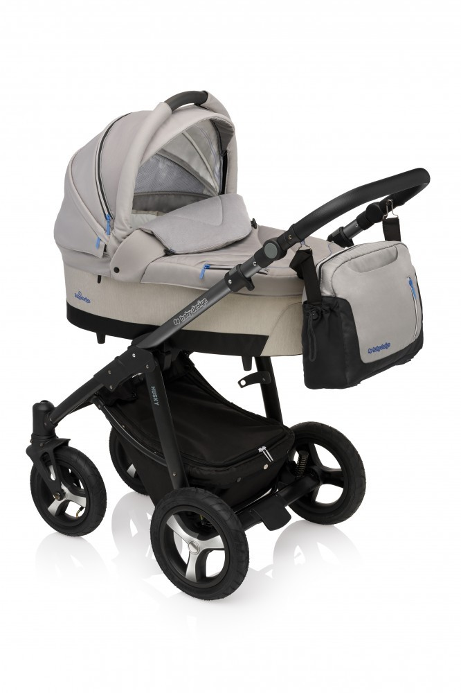 Carucior Multifunctional 2in1 Baby Design Husky Winter Pack 07 Gray 2017