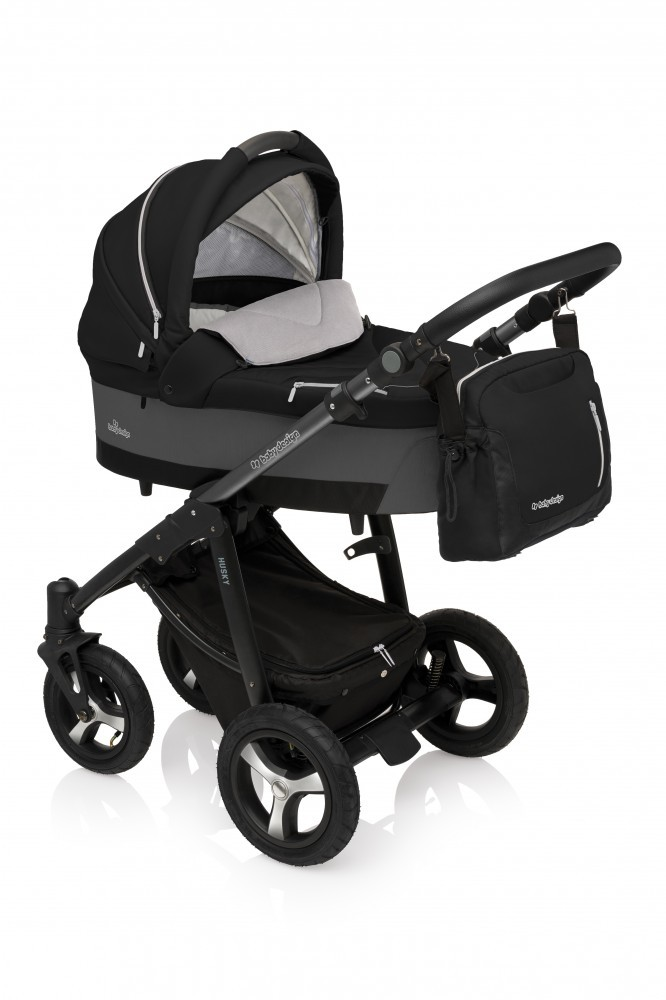 Carucior Multifunctional 2in1 Baby Design Husky Winter Pack 10 Black 2017