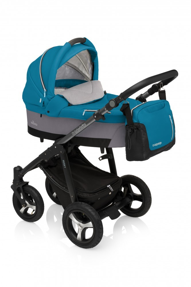 Carucior Multifunctional 3 in 1Baby Design Husky Winter Pack 05 Turquoise 2017