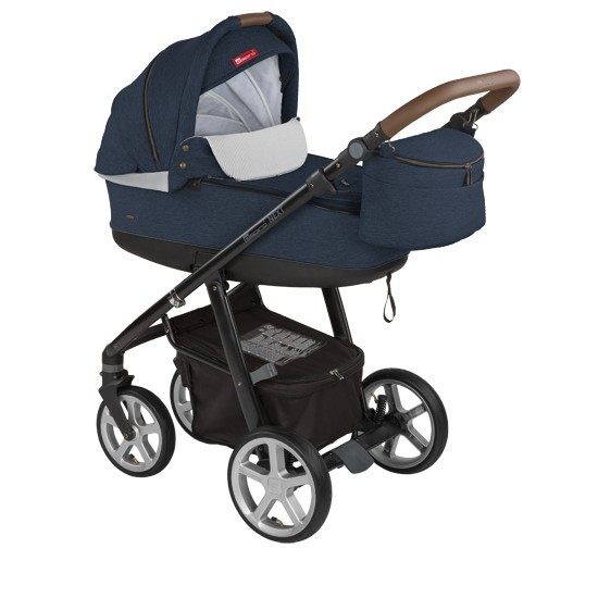 Carucior multifunctional 2in1 Espiro Next Avenue 103 Navy Sky 2017