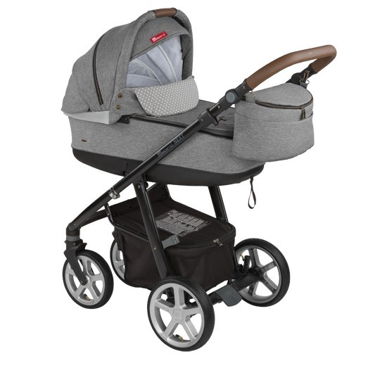 Carucior multifunctional 2in1 Espiro Next Avenue 107 Grey Dove 2017