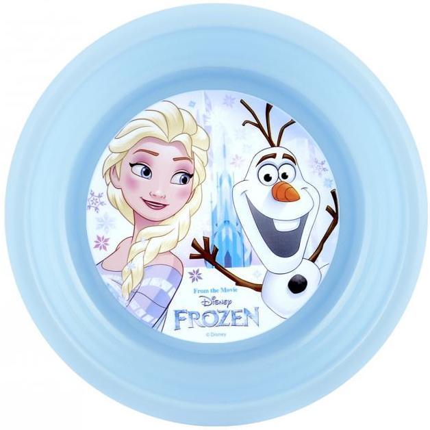 Farfurie adanca plastic Frozen Lulabi 8006202A