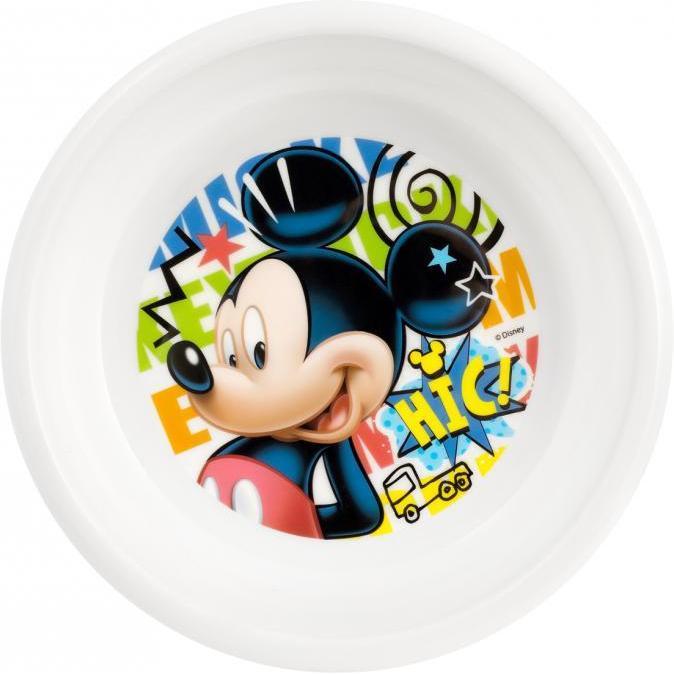 Farfurie adanca plastic Mickey Doodle Lulabi 8310102