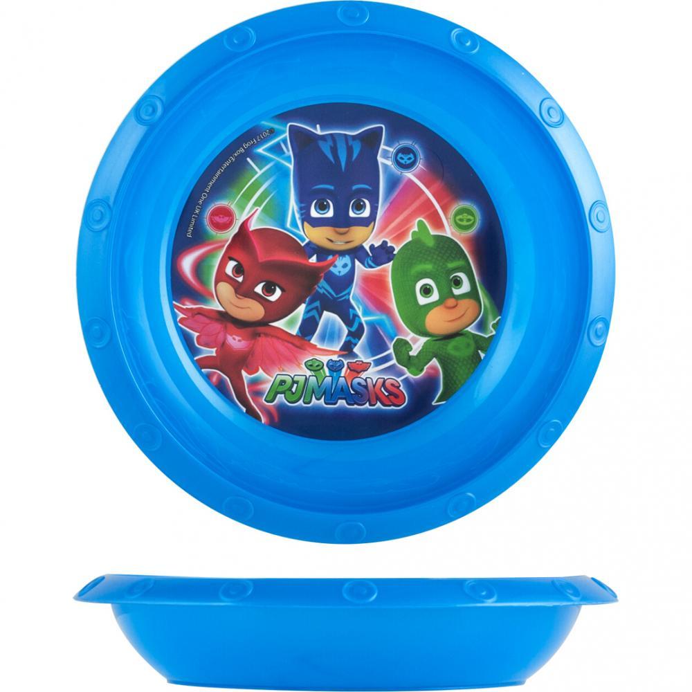 Farfurie adanca plastic PJ Masks Lulabi 8048702
