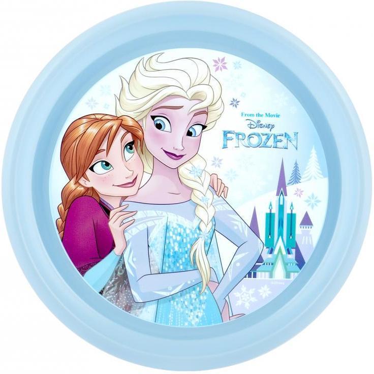 Farfurie plastic Frozen Lulabi 8006201A