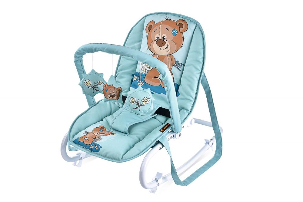 Fotoliu balansoar Top Relax Green Cute Bear