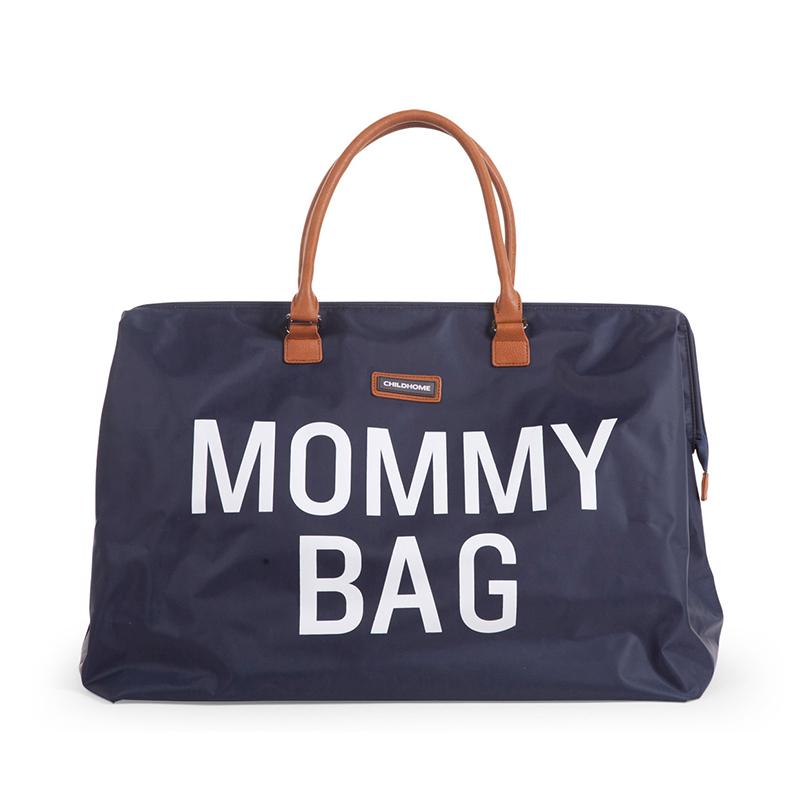 Childhome Geanta bebe cu saltea de infasat Mommy Bag Big Navy