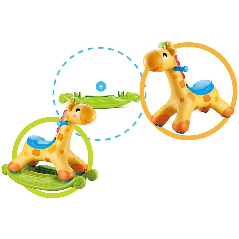 Girafa interactiva cu sistem balansare - Sun Baby