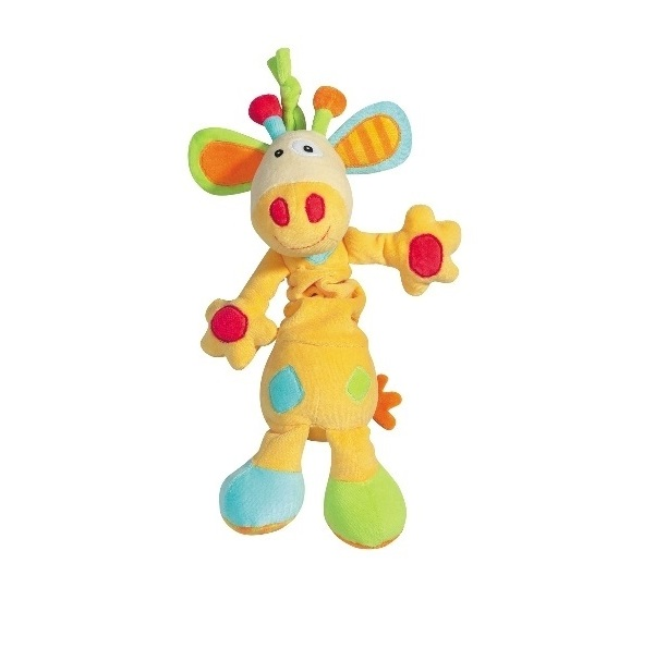 Jucarie muzicala Girafa Brevi Soft Toys din categoria Camera copilului de la BREVI SOFT TOYS