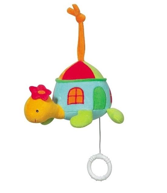 Jucarie muzicala Testoasa Brevi Soft Toys