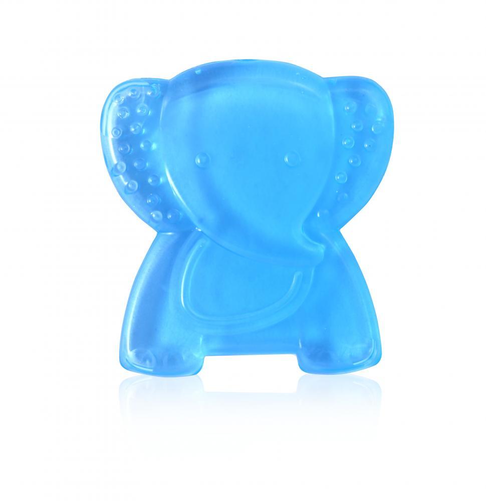 Jucarie refrigeranta si de dentitie Elephant Blue