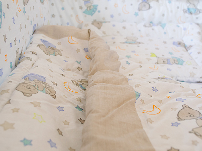 Lenjerie Teddy Stars 4 piese 120x60