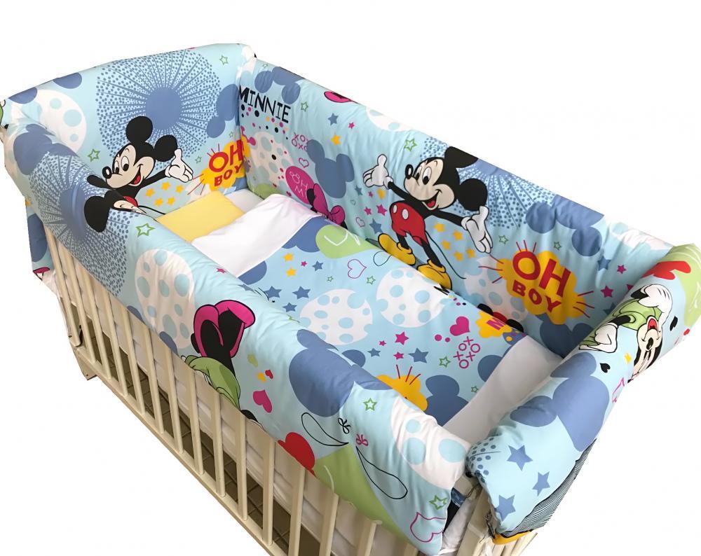Lenjerie de pat Maxi Mickey Mouse 120x60 cm