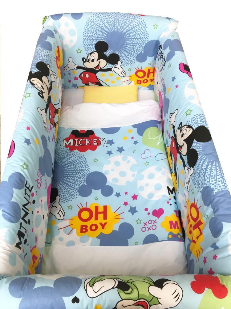 Lenjerie de pat Maxi Mickey Mouse 140x70 cm