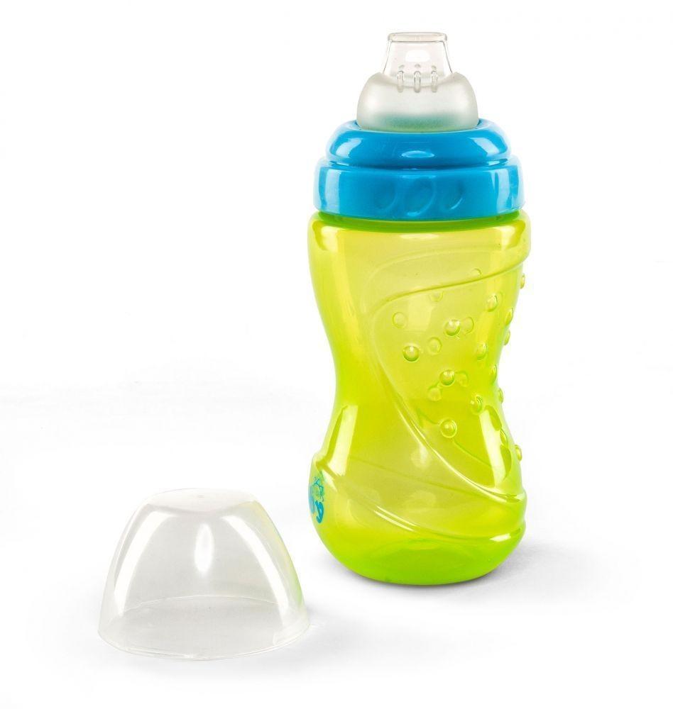 Pahar pentru bebelusi12 luni+ Nuvita 1449 - albastruverde