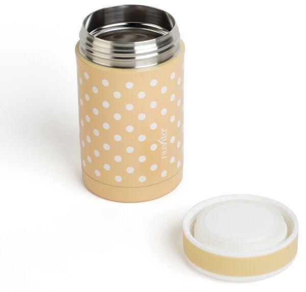 Termos inox mancare solida 500 ml Nuvita 1472 beige