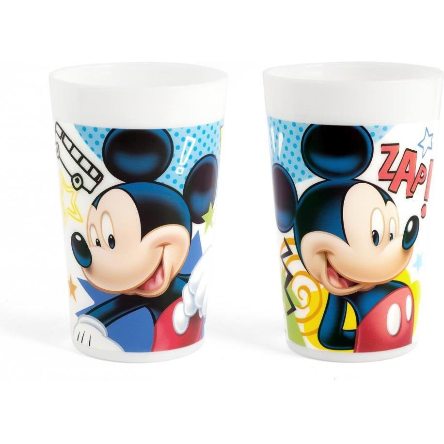 Pahar plastic 280ml Mickey Doodle Lulabi 8310167