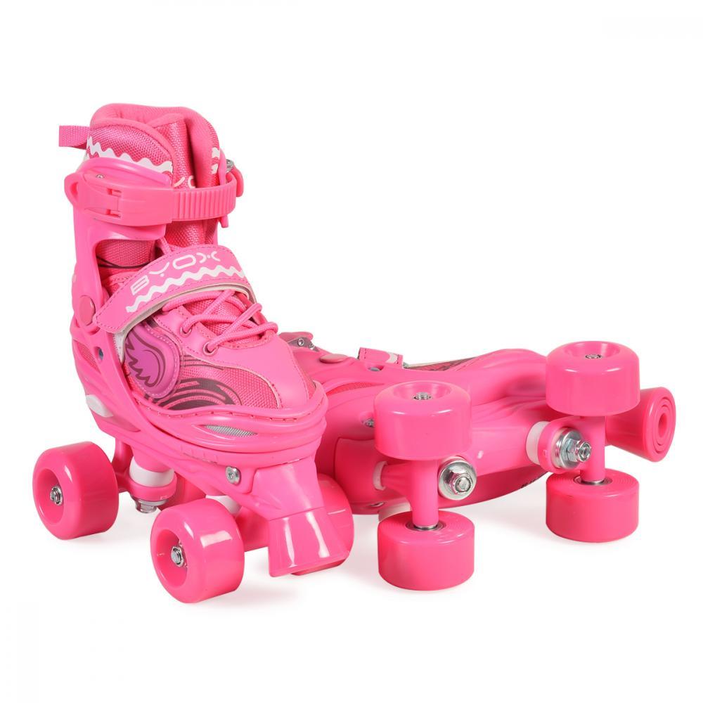 Patine cu rotile pentru fetite Firefly Pink 30-33
