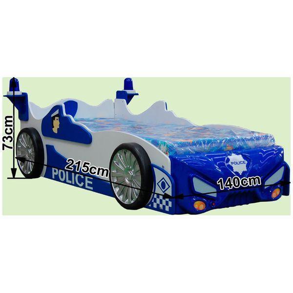 Patut in forma de masina Police