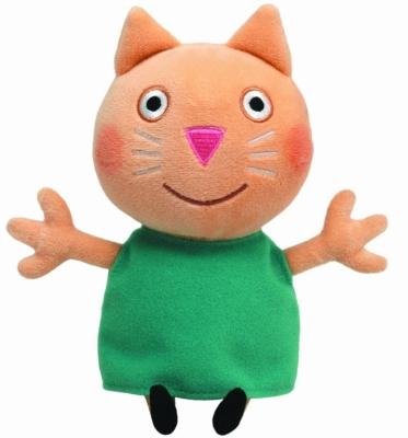 Plus licenta Peppa Pig, Pisicuta Candy (15 cm) - Ty