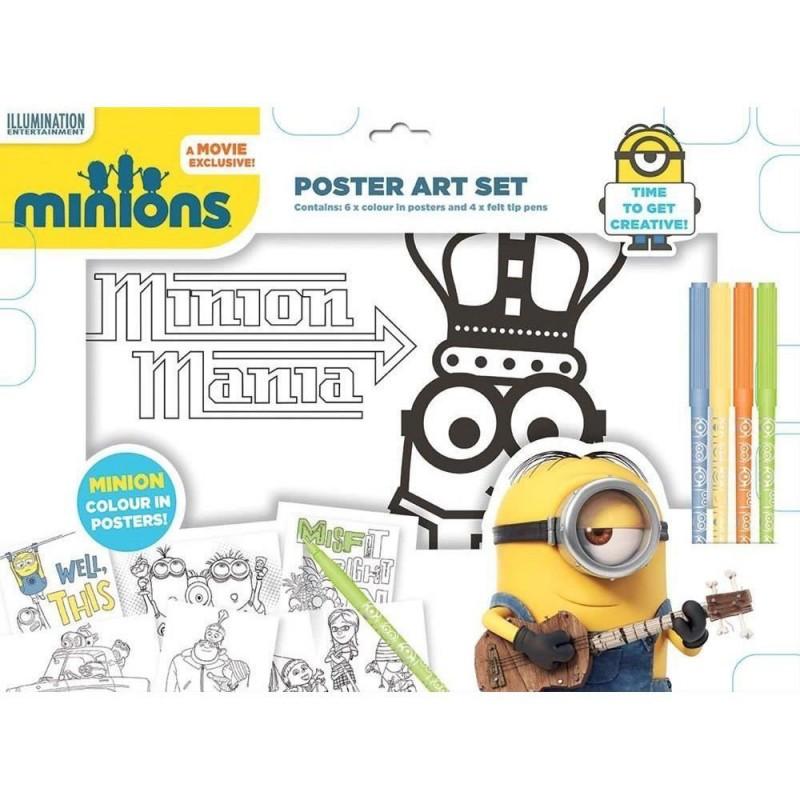 Poster artistic Minions