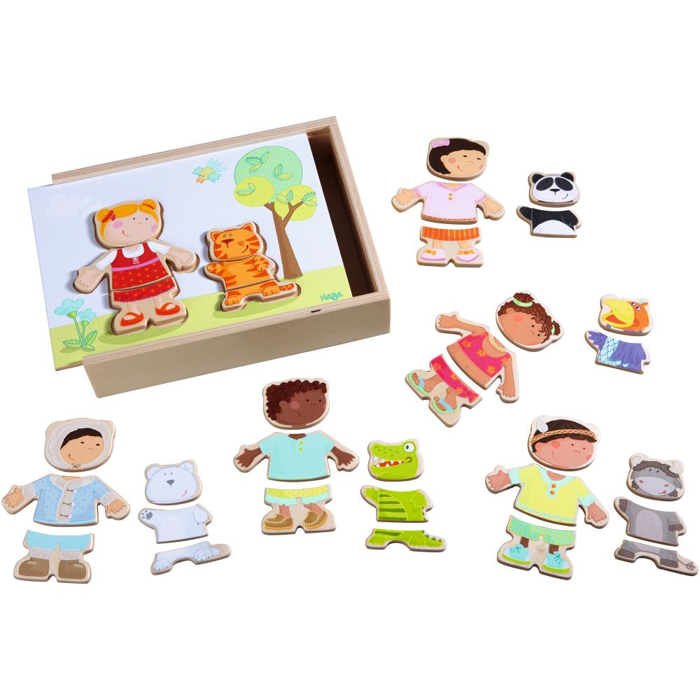 Puzzle din lemn Copiii lumii 36 piese
