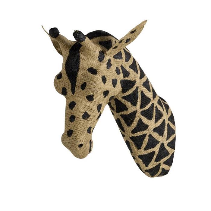 Decoratiune perete Trofeu Girafa Large