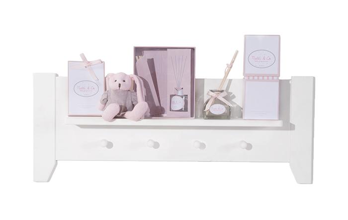 Saculeti parfumati Natti Co gri pentru camera bebe 6 bucati