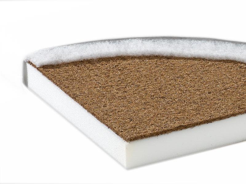 Saltea fibra cocos standard I 120x60x9 cm