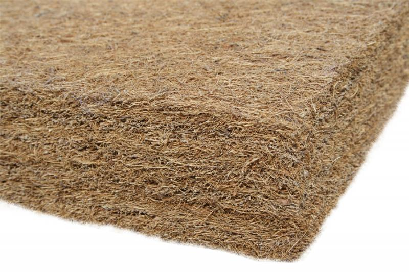 Saltea fibra de Cocos Integral 140x70x8 husa microfibra matlasata