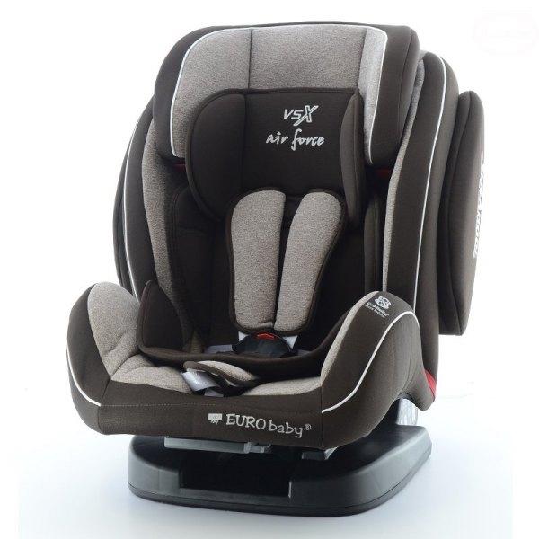 Scaun auto Eurobaby VSX 9-36 kg Negru
