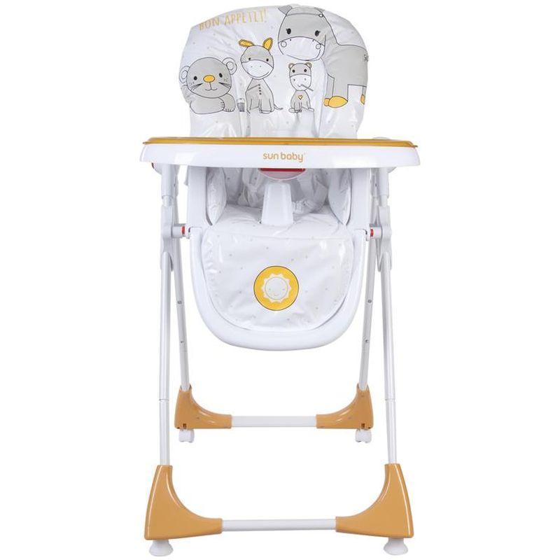Scaun de masa Comfort Lux Sun Baby Portocaliu