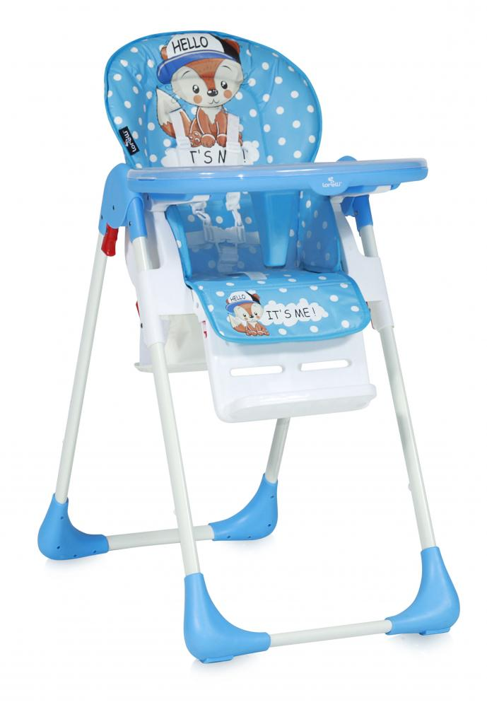Scaun de masa Tutti Frutti reglabil Blue Baby Fox