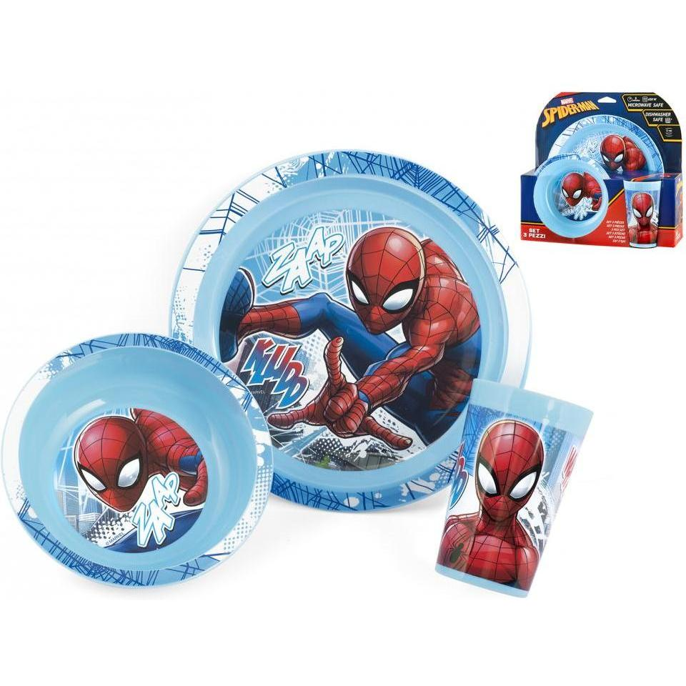 Set 3 piese Spider-Man Lulabi 8310400