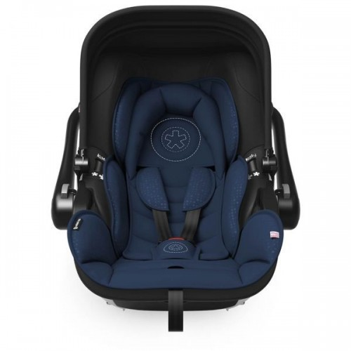 Set Carucior Evostar 1 + scoica auto Evoluna i-Size Night blue