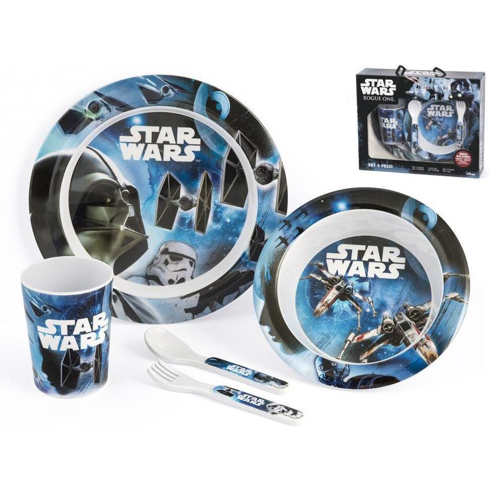 Set pentru masa melamina 5 piese Star Wars Rogue One Lulabi 8330500