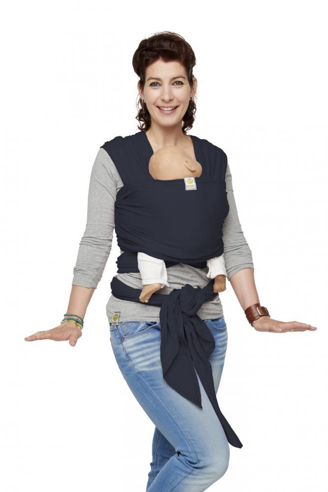 Sistem de purtare Bykay Wrap Elastic Classic Jeans Blue