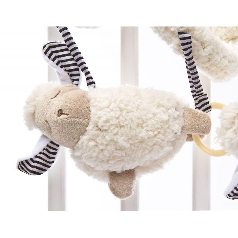 Spirala cu jucarii Sheep pentru patutcarucior