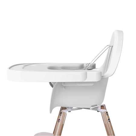 Tavita alba reglabila din abs pentru scaun de masa Evolu2
