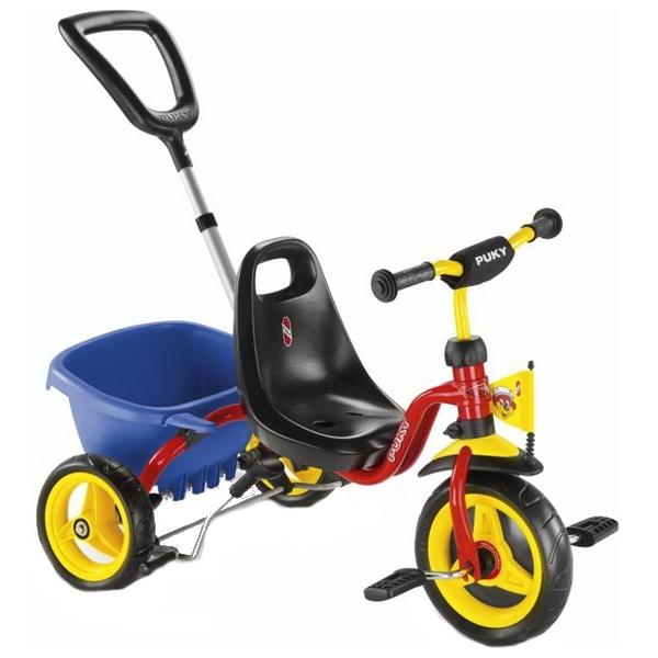 Tricicleta cu maner - Puky