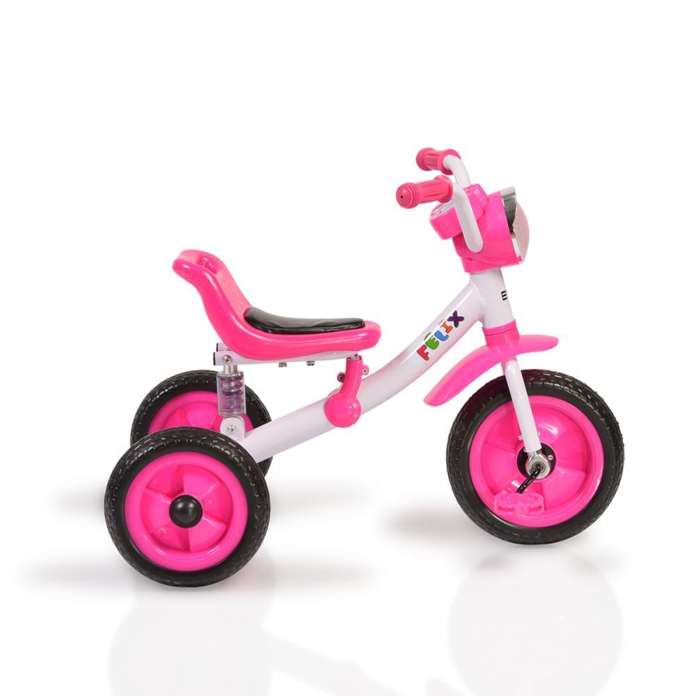 Tricicleta cu suspensii Felix Pink