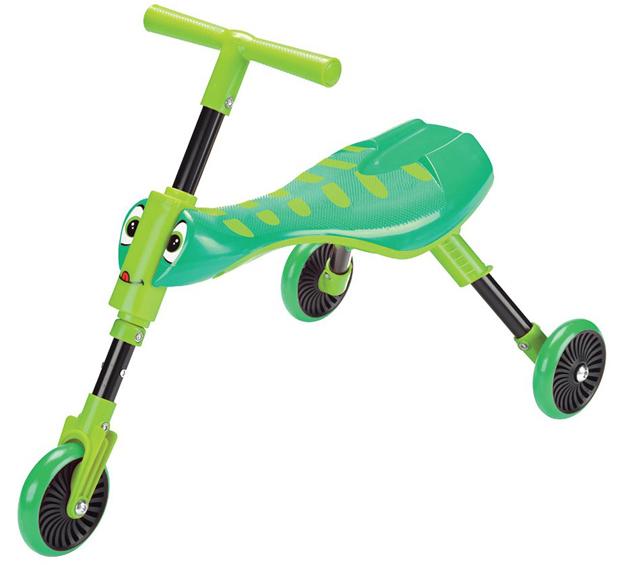 Tricicleta fara pedale Scuttlebug Grasshopper