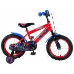 Bicicleta pentru baieti 14 inch cu roti ajutatoare Ultimate Spiderman