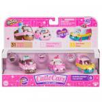 Cutie cars pachet cu 3 masinute Bumper Bakery