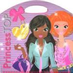 Carte cu stickere Princess Top My Style Violet